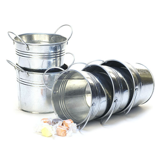 Galvanized Pail 5 inch with Side Handles