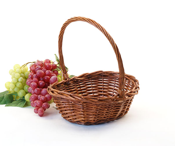 Willow Shop Basket 9 inch