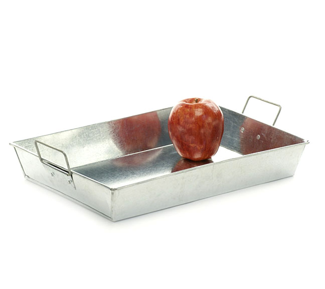 Rectangle Galvanized Tray 13 inch